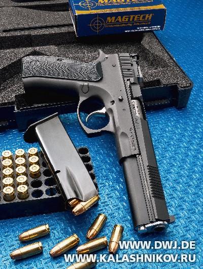 Пистолет AKAH CZ 75B 6.0. Журнал Калашников