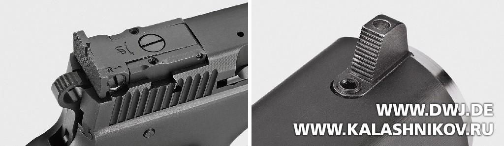 Спортивный пистолет AKAH CZ 75B 6.0. Прицельные приспособления. Журнал Калашников