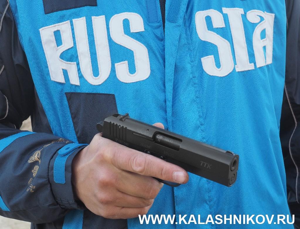 Травматический пистолет ТТК-F. Журнал Калашников