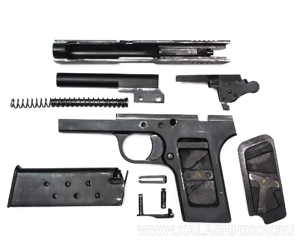 Неполная разборка травматического пистолета ТТК-Ф. Журнал Калашников