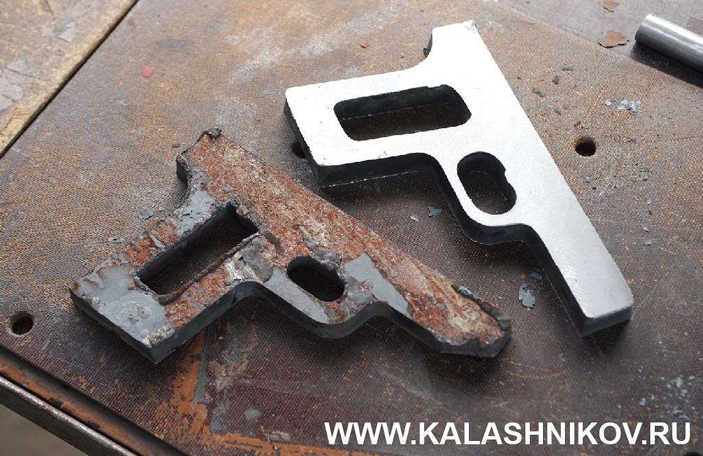 Заготовка рамки пистолета ТТК-F.  Журнал Калашников