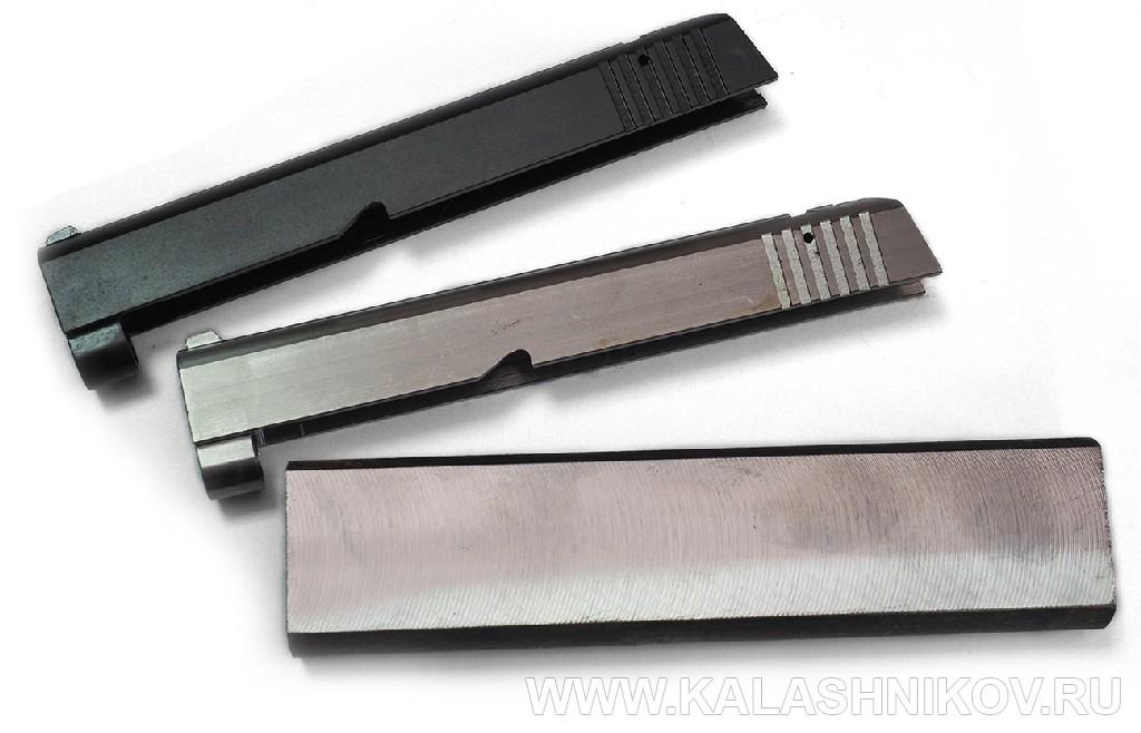 Заготовка затвора пистолета ТТК-F.  Журнал Калашников