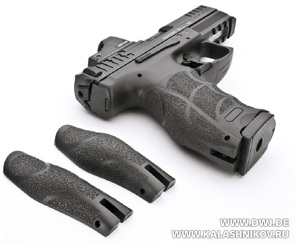 Пистолет HK SFP9 OR. Накладки на рукоять. Журнал Калашников