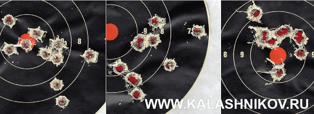Карабин Orsis К-15 «Брат». Мишени с результатами стрельбы. Журнал Калашников