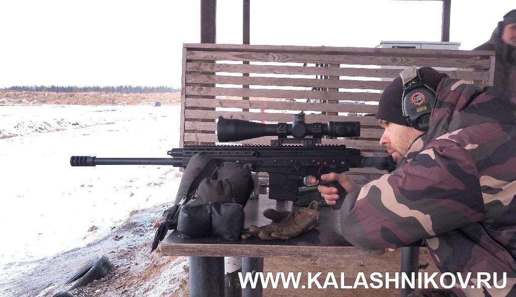 Карабин Orsis К-15 «Брат» на стрельбище. Журнал Калашников