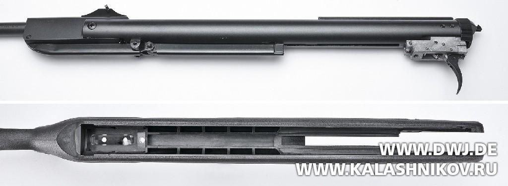 Пневматическая винтовка Blaser AR8 Professional Success. Ствольная коробка и ложа. Журнал Калашников
