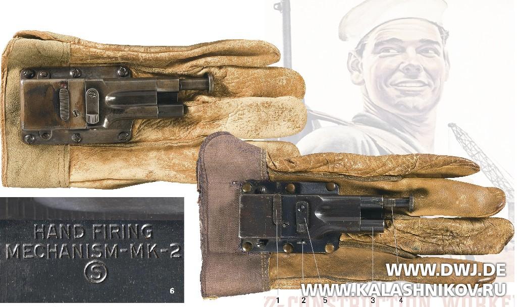 Серийная стреляющая перчатка
