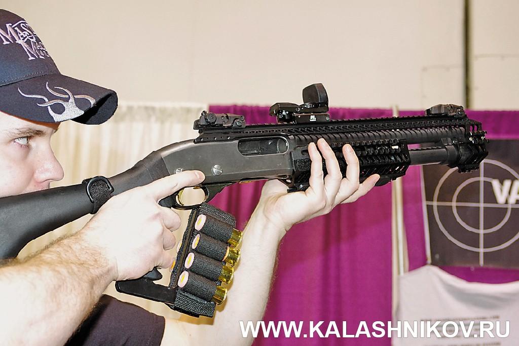 быстросъёмный патронташ для гладкоствольных ружей