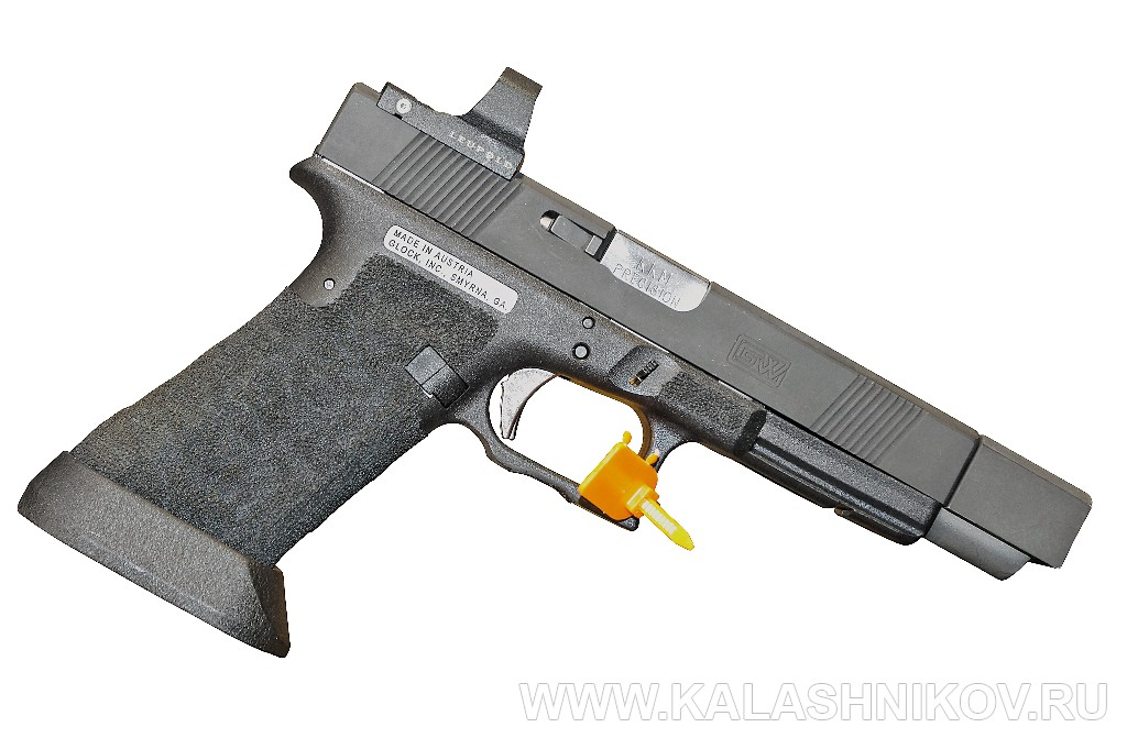 Тюнингованный Glock 34