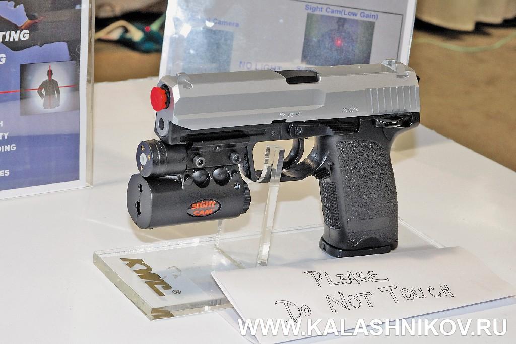 Видеокамера для спортивного пистолета