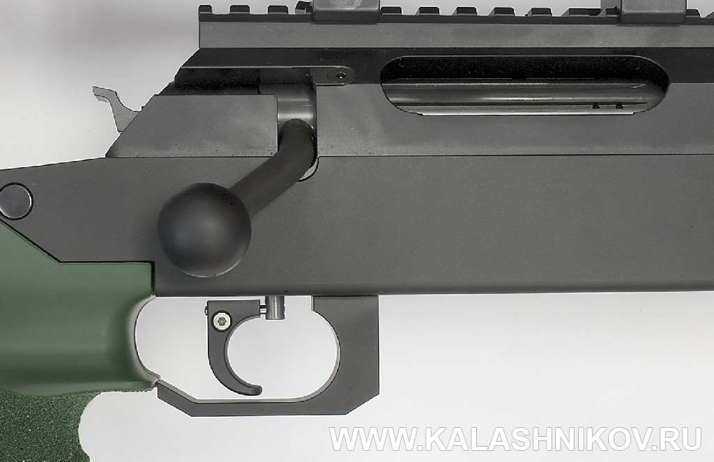Винтовка Unique Alpine TPG-1. Спусковой крючок