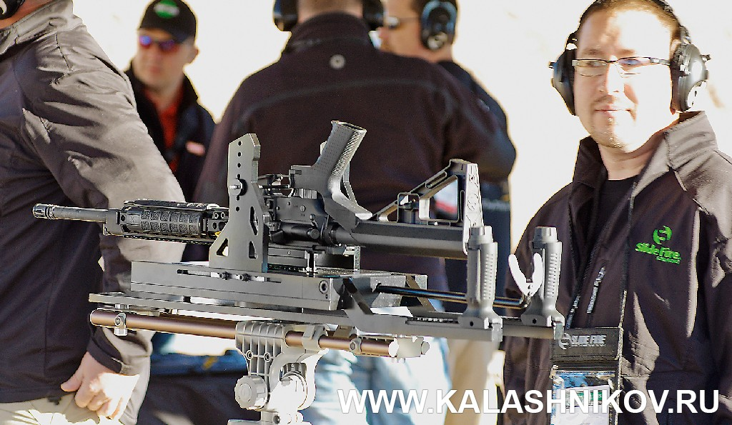 Slide Fire, SHOT Show 2014, shooting day, range day, media day, indastial day