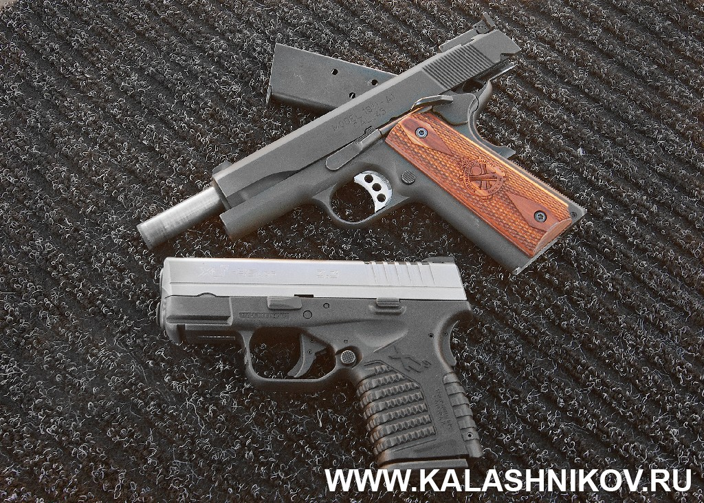 XDM-45ACP Compact, М1911-А1, SHOT Show 2014, shooting day, range day, media day, indastial day