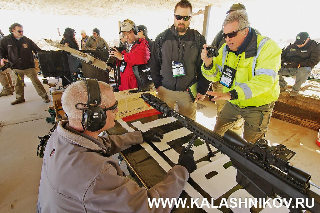 Barret, SHOT Show 2014, shooting day, range day, media day, indastial day