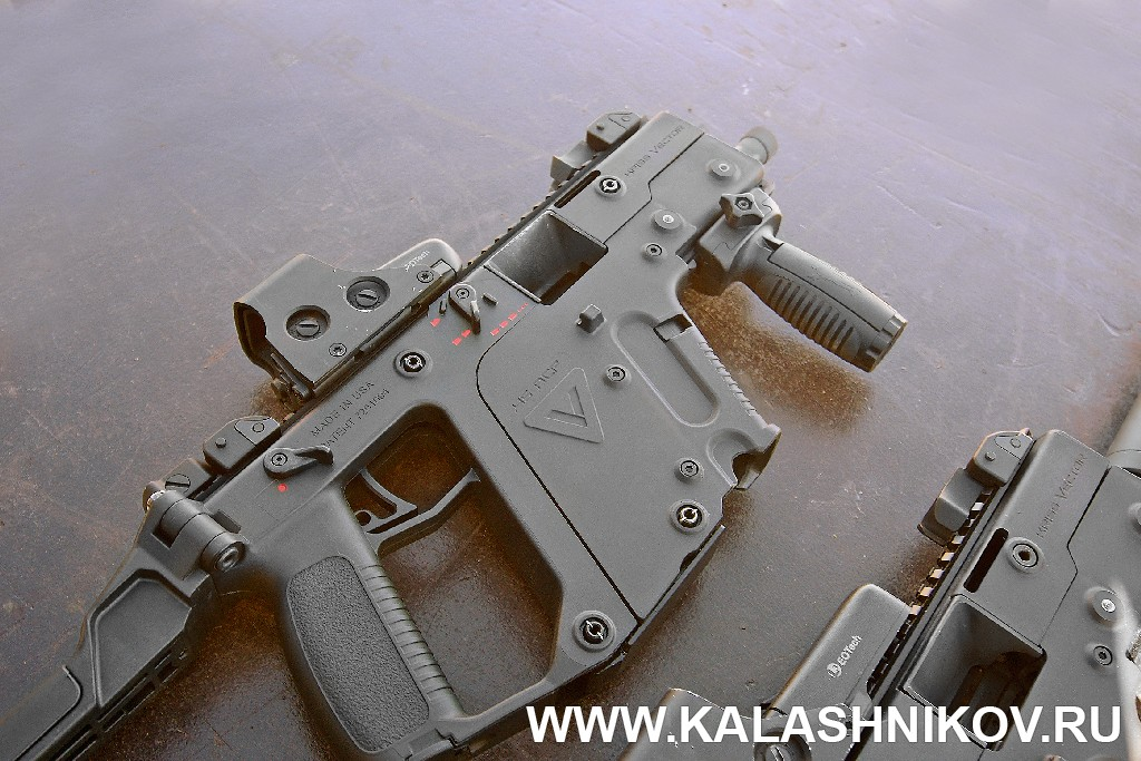 KRISS Vector, SHOT Show 2014, shooting day, range day, media day, indastial day