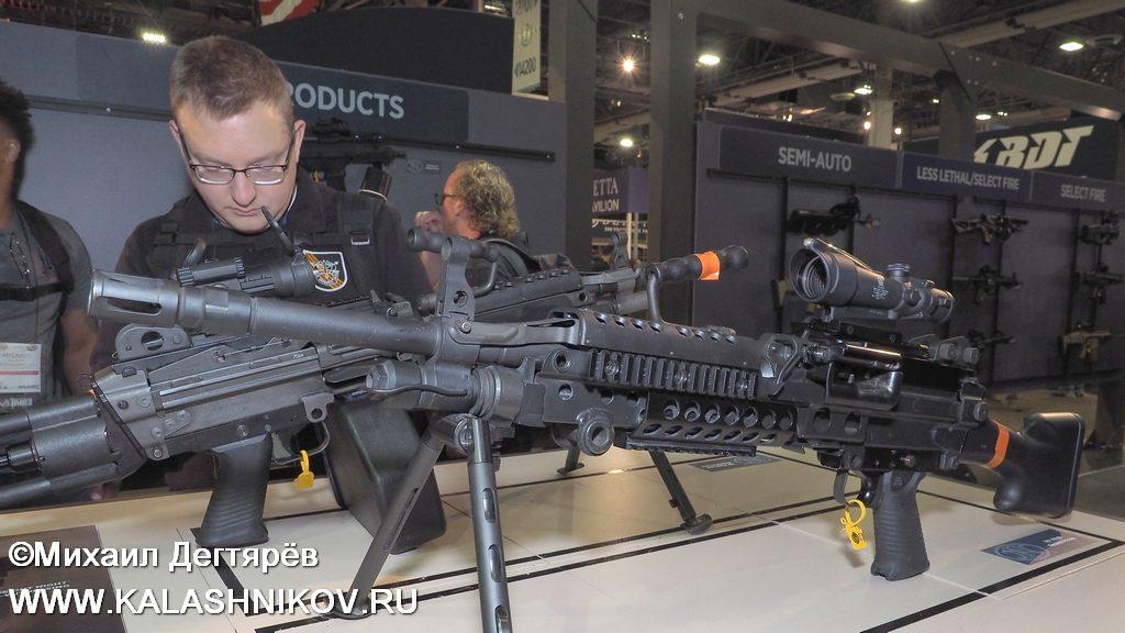 FN, FN Browning, FN Herstal, FN Minimi, M249, machine gun, пулемёт, SHOT Show 2019