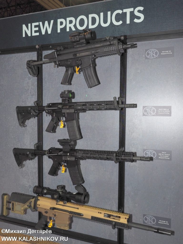 FN, FN Browning, FN Herstal, FN 15, FN SCAR, assault rifle, штурмовая винтовка, SHOT Show 2019