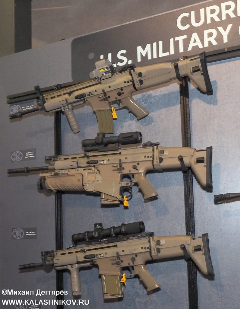 FN, FN Browning, FN Herstal,  assault rifle. FN SCAR, штурмовая винтовка, SHOT Show 2019