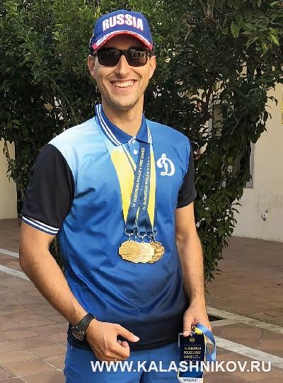 Сергей Кузнецов на VII международных играх полицейских и пожарных