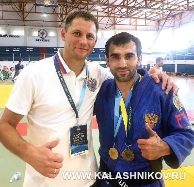 Амир Шамхалов на VII международных играх полицейских и пожарных