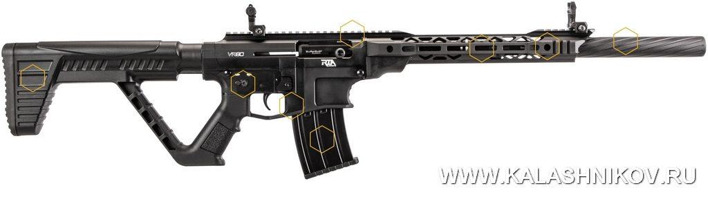 Ружьё Rock Island Armory VR80, derya arms