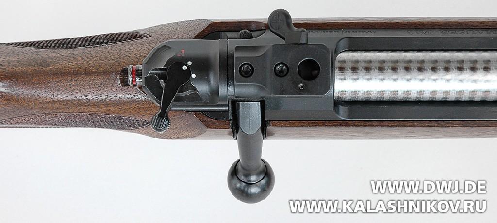 Закрытый затвор винтовки M12 Mauser