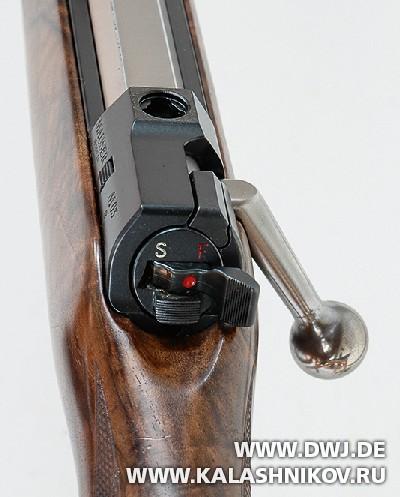 Закрытый затвор винтовки Mauser M03