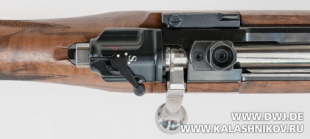 Закрытый затвор винтовки Mauser М98