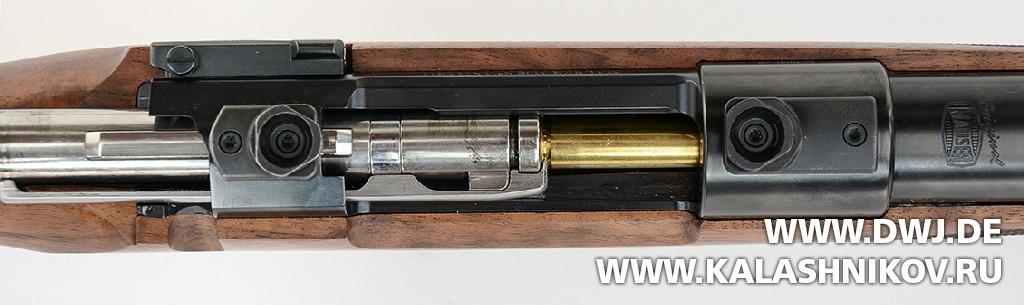 Винтовка Mauser М98. Вид на затвор и систему досылания