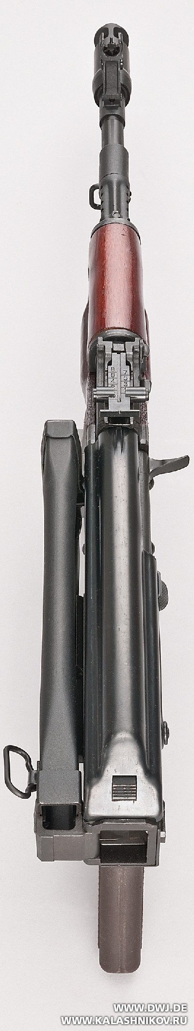Автомат АК-103 отSDM вид сверху
