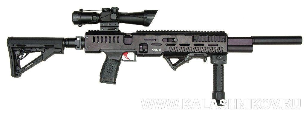 Пневматическая винтовка ППК-17-4