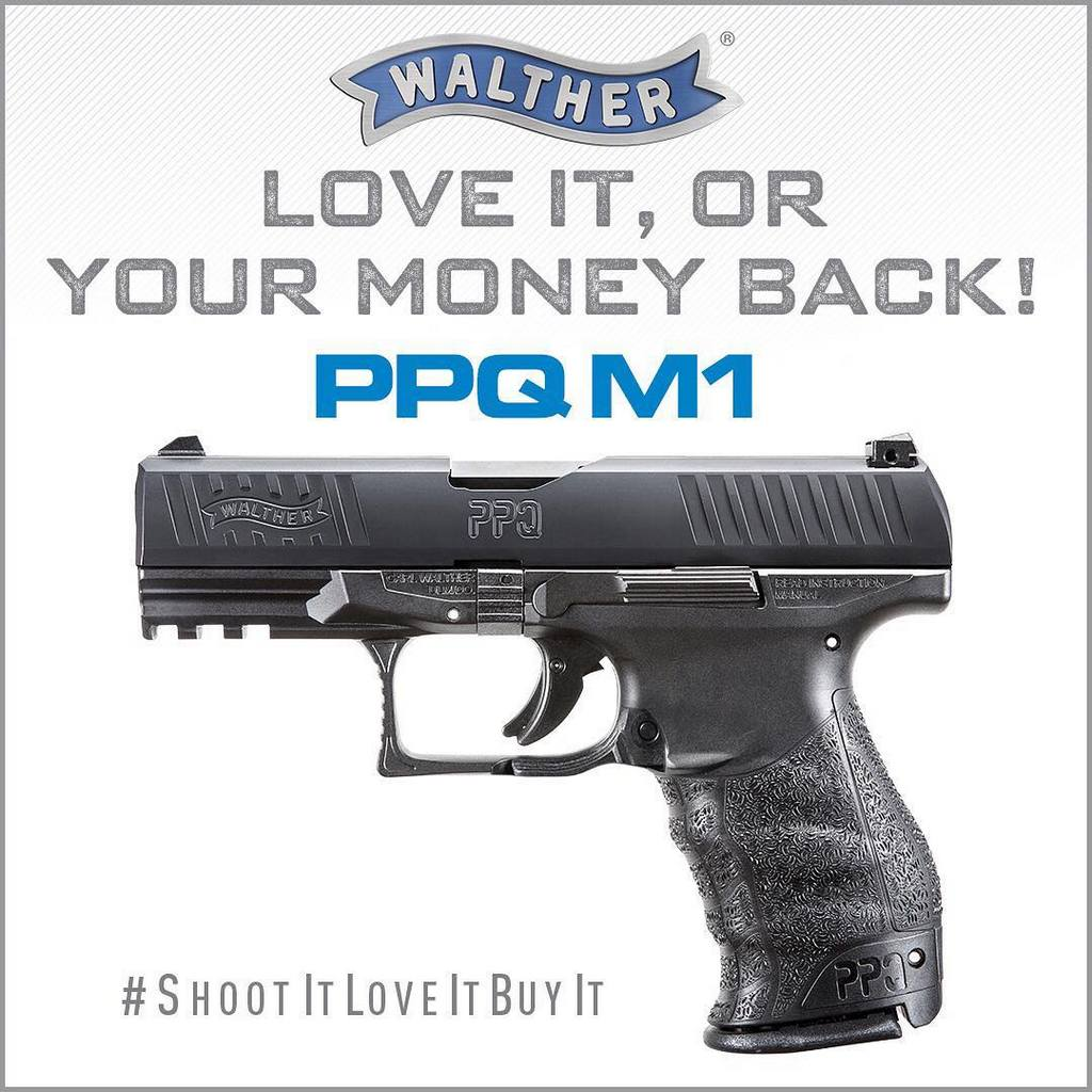 пистолет walther PPQ M1