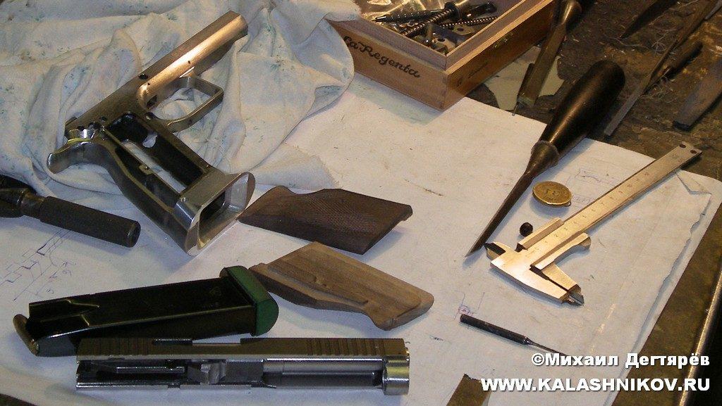 Евгений Ефимов, пистолет, конструктор, пистолет Ефимова, ПЕ-9, ПЕ-10