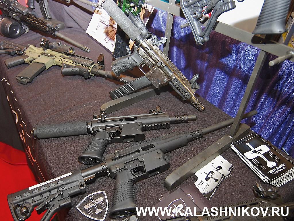 компакты под пистолетный патрон в форм-факторе М4 SHOT Show 2014
