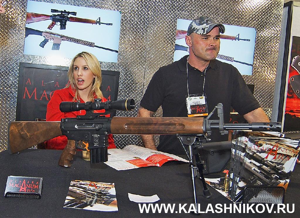 Оригинальная версия винтовки M16 SHOT Show 2014