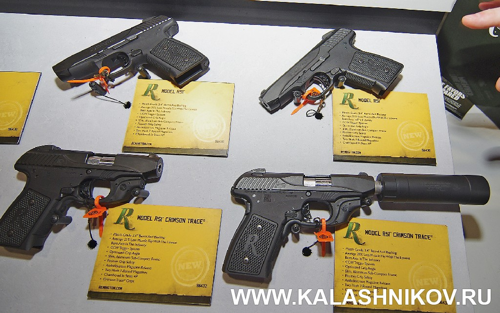 Remington R51 SHOT Show 2014