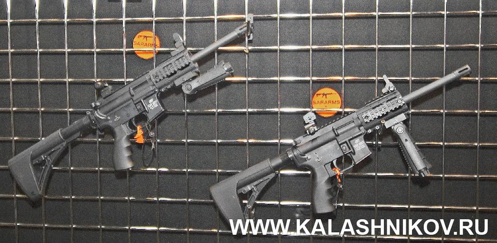 карабины SAR под пистолетный патрон SHOT Show 2014