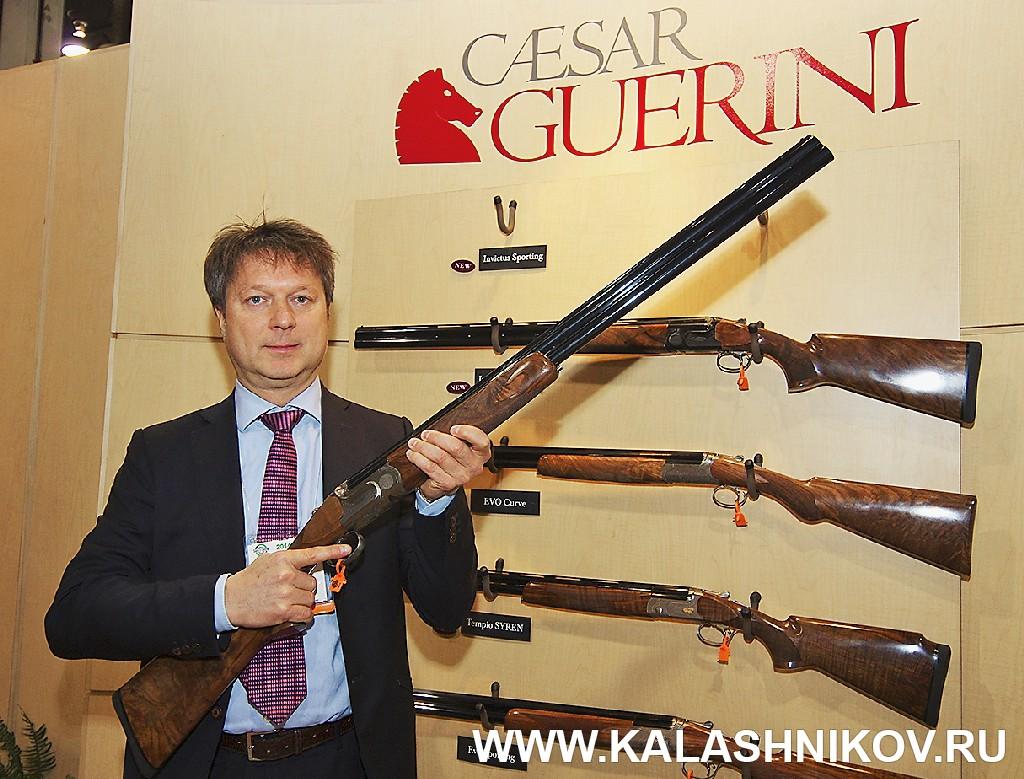 Cesar Guerini  SHOT Show 2014