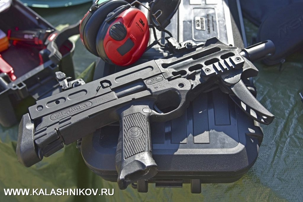 пистолет-пулемёт Chiappa Firearms, sub machine gun