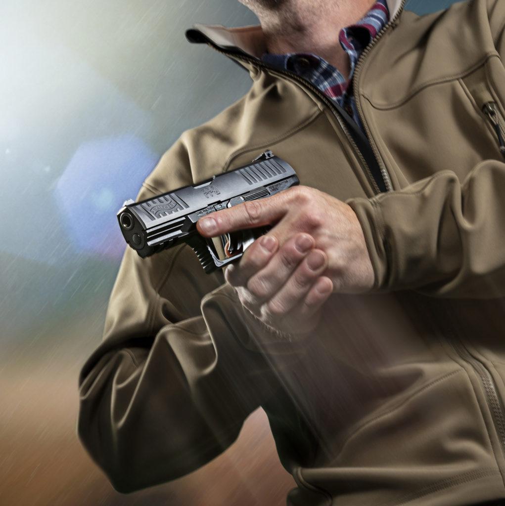 Пистолет walther PPQ