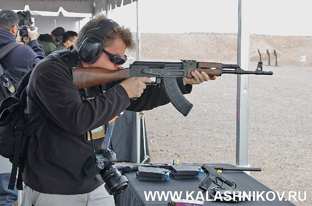АК-образное оружие SHOT Show 2015