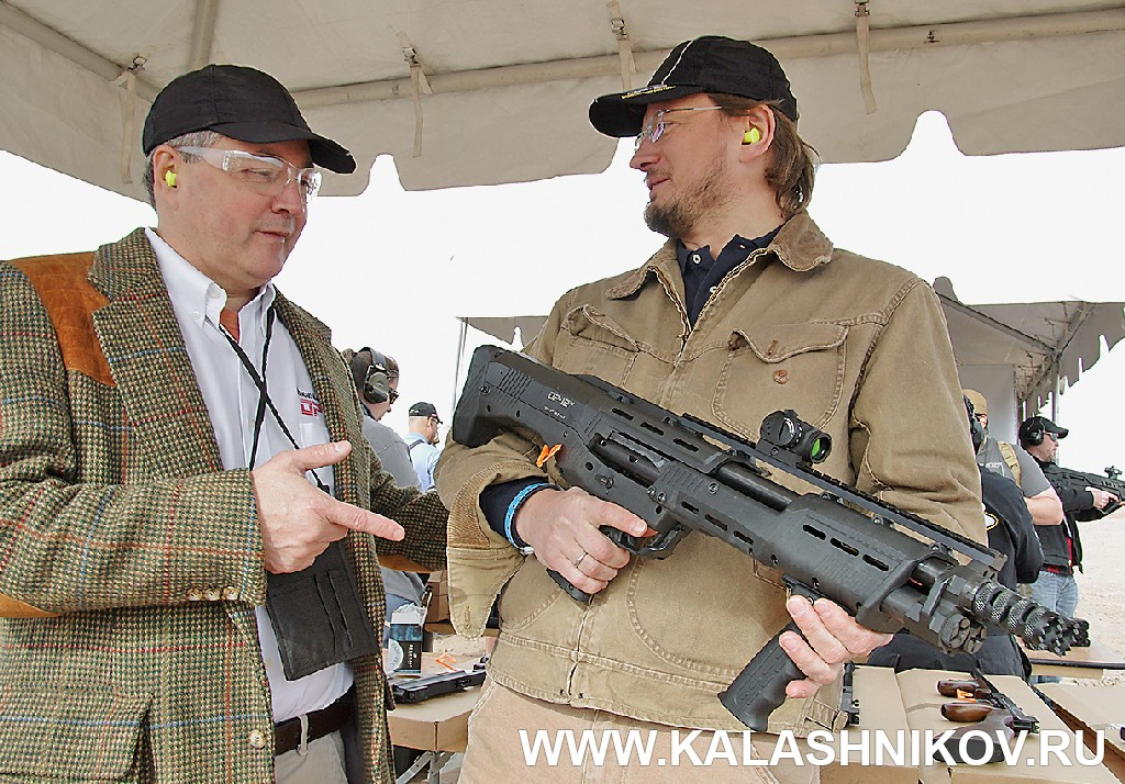 DP-12 Connecticut Shotgun Manufacturing Co. SHOT Show 2015
