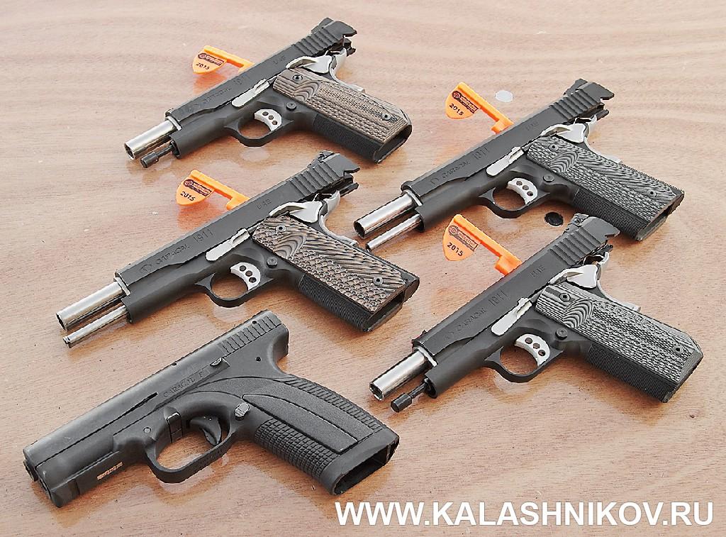 пистолеты Tawazun M1911 SHOT Show 2015