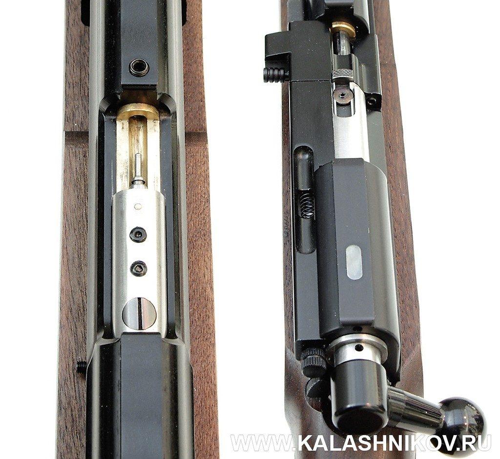 Пневматическая винтовка ПИ-04 - затвор и магазин