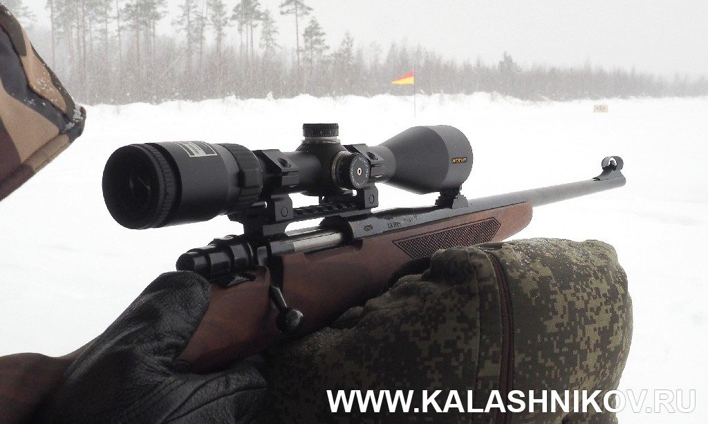 карабин Zastava M85 на стрельбище