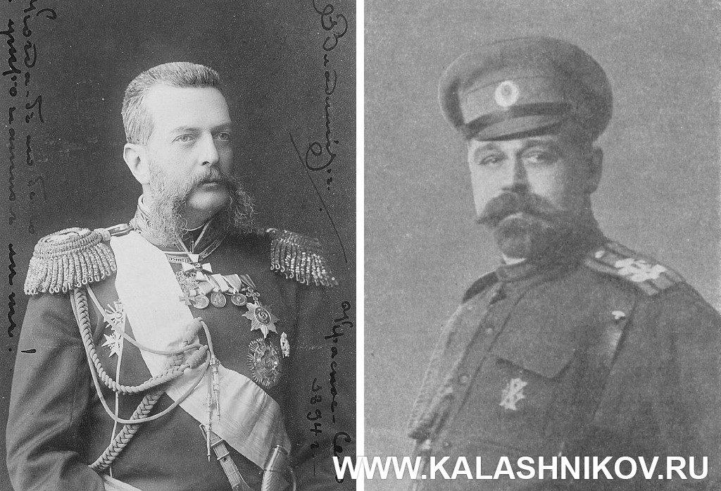 Великий князь Владимир Александрович и Герцог Н.Н. Лейхтенбергский