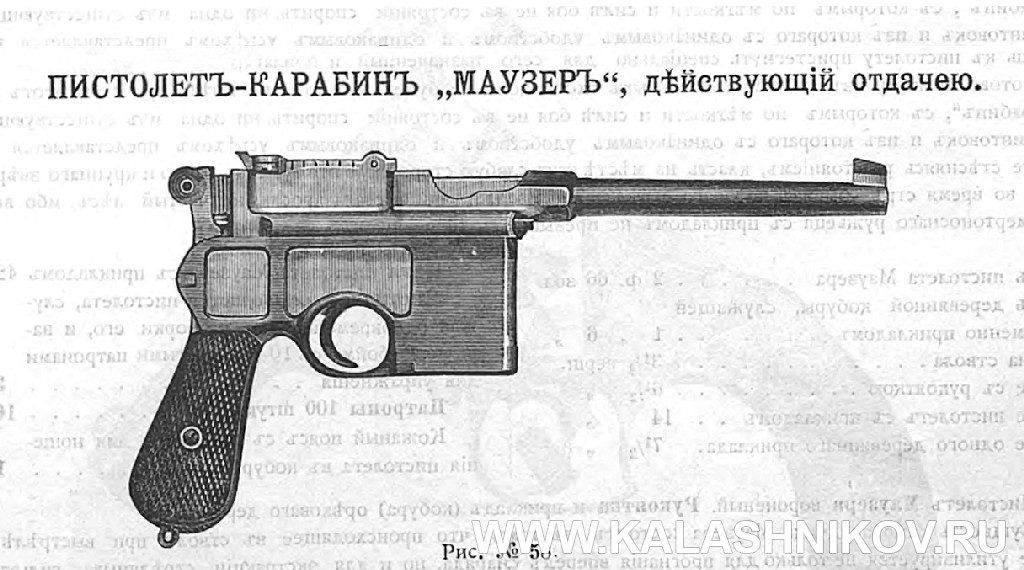 пистолет Маузера C96