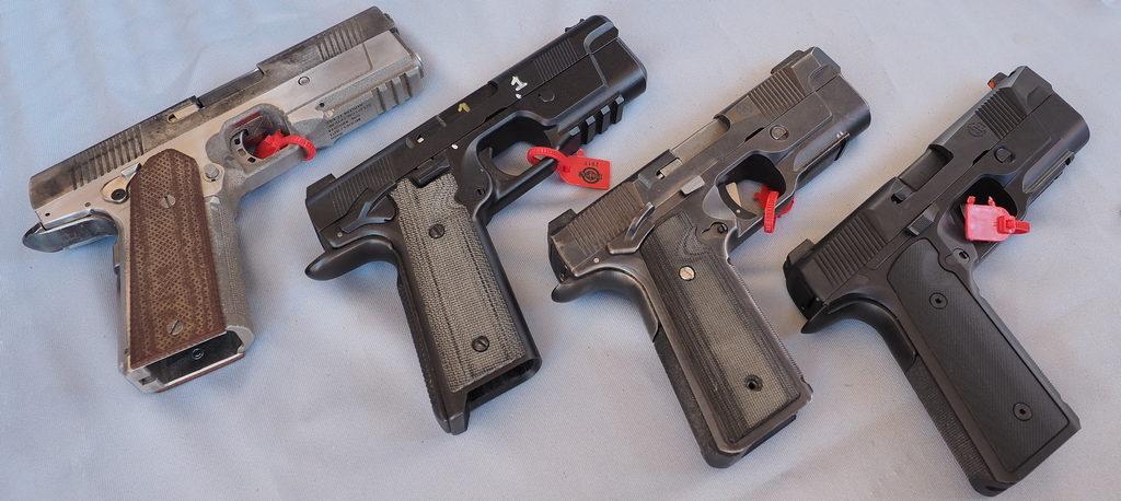 pistol HudsonH9, prototype