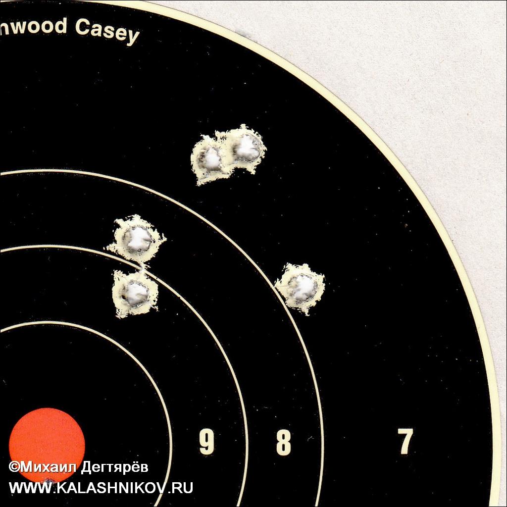 попадания из карабина «Вепрь», ВПО-155-20, ооо молот оружие, armscor, прицел «Дедал» DH1-7×24