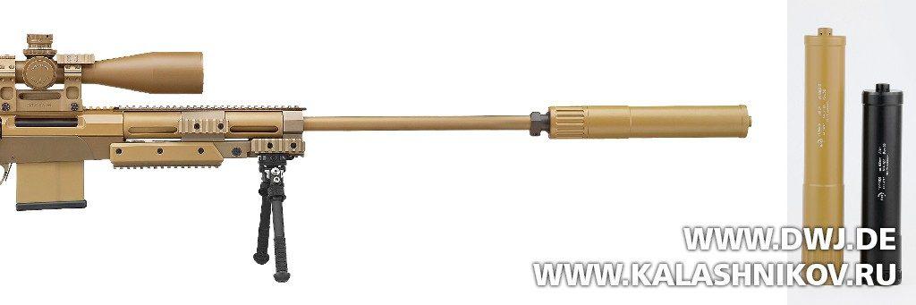 Винтовка G29 с глушителем B&T. Армейская и охотничья версия